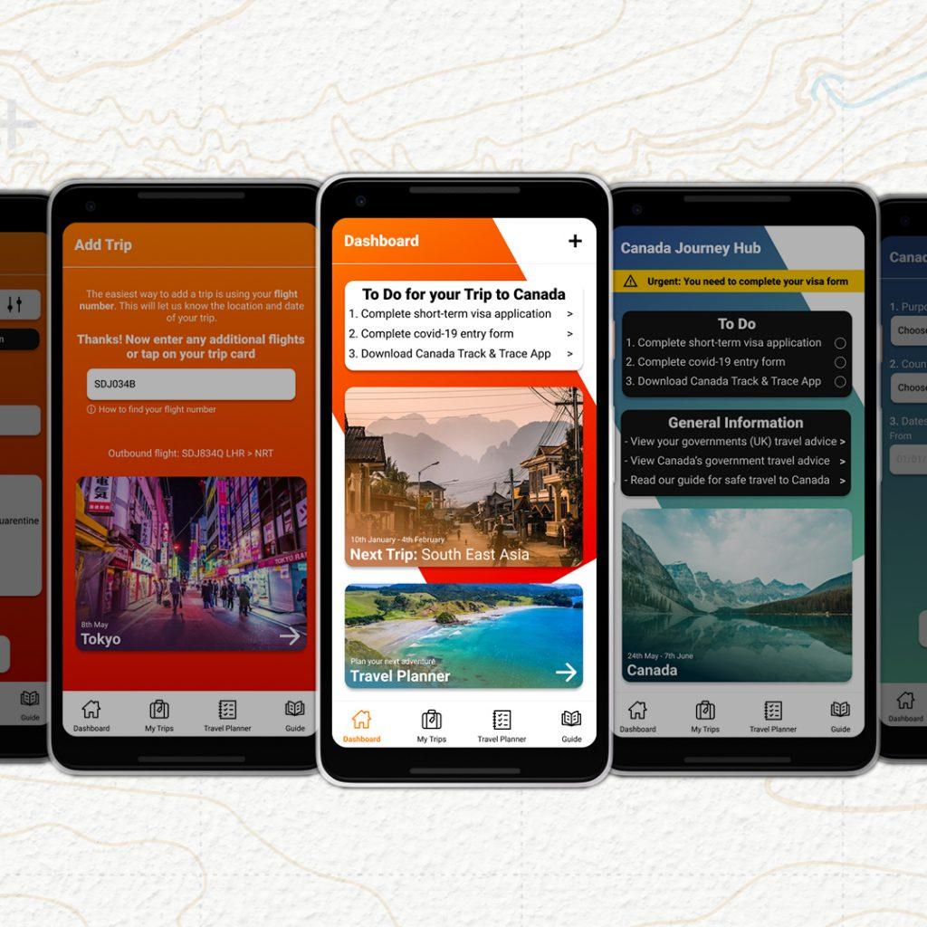 Covid Safe Travel App Prototype